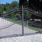 Cancello in ferro automatizzato