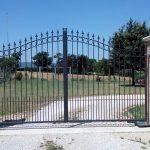 Cancello in ferro personalizzato